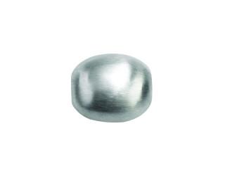On Wire lås oval 12 x 10 mm mat sølv