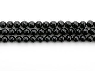 Facetteret 12 mm onyx kæde
